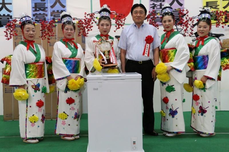 団体の部踊り部門大賞「津軽富士の舞」